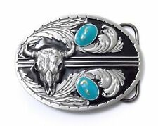 Men's Cowboys and Western Pewter Belt Buckle