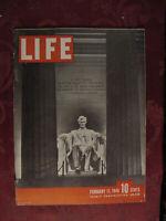 LIFE Magazine February 11 1946 Japan Tom Breneman Lady Astor Philip Murray