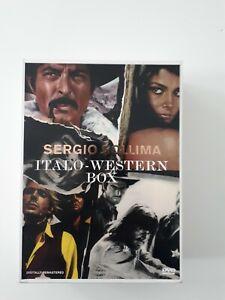 Sergio Sollima Italo-Western Box 4 DVDs und Buch Leichen pflastern ihren Weg