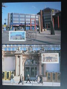architecture Europa Cept 1990 x2 maximum card Germany 75712