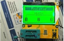 12864 LCD Mega328 ESR Meter Transistor Tester Diode Triode Capacitance MOS PNP