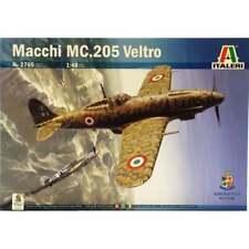 ITALERI 1:48 KIT AEREO MACCHI MC.205 VELTRO CON DECALS PER 6 VERSIONI  ART 2765