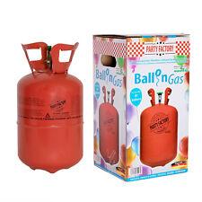 Helium Ballon-Gas Einweg ca. 30 Luftballons 0,25 qm³ Folienballons Heliumflasche
