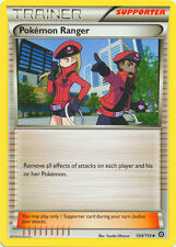 4x Pokemon Ranger - 104/114 - Uncommon Pokemon Near Mint XY Steam Siege