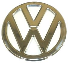 "EMBLEM FRONT 317mm 12.48"" Round CHROME VW FITS VOLKSWAGEN TYPE2 BUS 1950-1967"