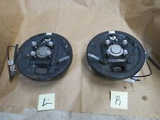 2013 - 2018 CHEVY TRAX RH / LH REAR DRUM  w/BACKING PLATE BRAKES AND HUB OEM