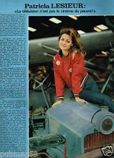 Coupure de Presse Clipping 1978 (1 page) Patricia Lesieur