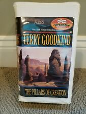 The Pillars of Creation by Terry Goodkind Audio Cassette Format