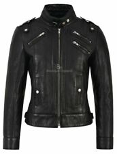Leather Outer Shell Gothic Biker Jackets Coats, Jackets & Waistcoats for Women