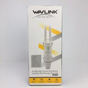 Wavlink AC600 IP65 Outdoor Wireles Repeater 2.4G&5G Wifi Ranger Extender Booster