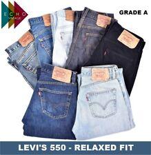 VINTAGE LEVI LEVIS 550 JEANS RELAXED FIT GRADE A MENS W30 W32 W34 W36 W38 W40