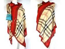 Burberry lujo Haymarket XXL bufanda PAÑUELO scarf estola 190x70 con cachemira PVP 429 €