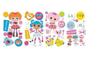 SFK Lalaloopsy Peel and Stick Wall Decals / Wall Sticker