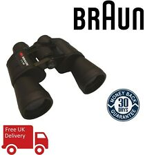 Braun 7x50 Full Size Binoculars Black BNBL20123 (UK Stock)