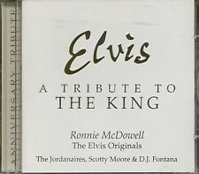 ELVIS A TRIBUTE TO THE KING RONNIE McDOWELL JORDANAIRES1997 USA CD