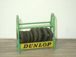 Tyre Rack Dunlop - Dinky Toys 786 England *53436