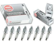 8 pcs NGK V-Power Spark Plugs for 1964-1971 Pontiac GTO 6.6L 6.4L 7.5L V8 hq