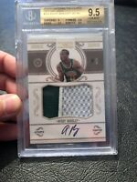 National Treasures Avery Bradley 3 Color Auto Logo Patch Rc 23/25 Gold BGS 9.5