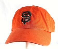 San Francisco Giants  Orange Baseball Cap Adjustable