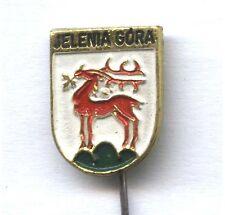 JELENIA GÓRA (Hirschberg im Riesengebirge) Polish City Coat of Arms pin badge