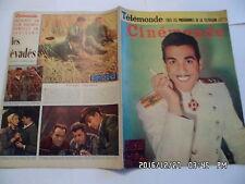 CINEMONDE N°1078 17/4/1955 MARIANO P.FRESNAY K.NOVAK M.PRESLE MARAIS BERGER  K10