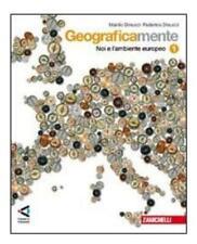 Geograficamente vol.1 zanichelli scuola, Dinucci, codice:9788808070470