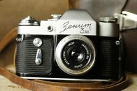 ZENIT-3M Collectible Soviet Film Camera with Industar 50 3,5/50 lens Very RARE