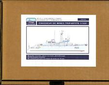 L'Arsenal Models 1/350 TRIPARTITE CLASS MINESWEEPER Resin & Photo Etch Model