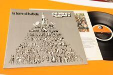 BENNATO LP LA TORRE DI BABELE 1° ST ORIG 1976 EX+ GATEFOLD LAMIANTED COVER E INN
