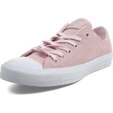 Converse Women's Sneaker Pink/White Shoe All Star Ox 159349C Suede Sz 6 -11 NIB