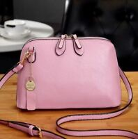 Genuine Leather Messenger Bag  Small High Quality Cow Cross body Shell Wo