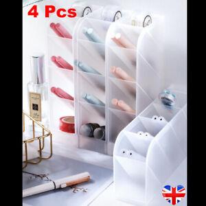4Pcs Storage Pencil Pen Tidy Desktop Organiser Stationary Home Office Holder NEW