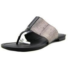 Sandalias con tiras de mujer Calvin Klein color principal plata