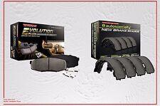 Ceramic Front Brake Pad & Rear Brake Shoe Kit Fits: Toyota Tacoma 05-15