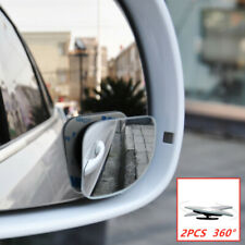Left and right side fan-shaped blind spot wide-view mirrors are easy to install
