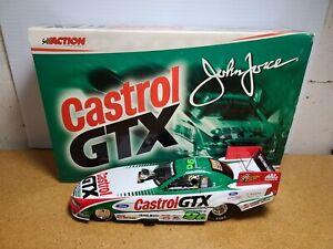 2000 John Force Castrol GTX Ford Mustang 1:24 NHRA Funny Car Action Die-Cast MIB