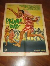 MANIFESTO,1965,PIGIAMA PARTY,Pajama,Don Weis,DOROTHY LAMOUR,Buster Keaton