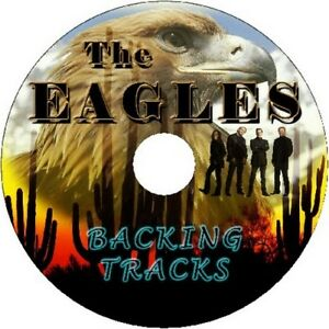 THE EAGLES GUITAR BACKING TRACKS CD BEST GREATEST HITS MUSIC PLAY ALONG MP3 ROCK