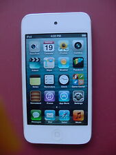 Apple iPod Touch 4th Generation  8GB White with BT & Camera_ Tested Excellent