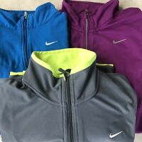 Nike size small womens running lot 3 pieces dri fit  1/4 zip track jacket