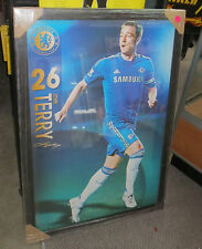 John Terry unsigned Chelsea FC Poster (900mmx 600mm) Framed
