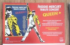 QUEEN Freddie Mercury Tribute 2013 UK magazine ADVERT / Poster 8x6 inches