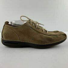 Cole Haan Men 13 NikeAir Milkshake Suede Brown Leather Bicycle Toe Casual C04783