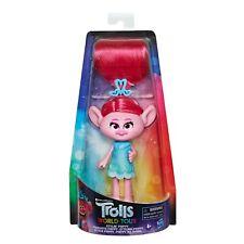 DREAMWORKS Folie die Trolle 4er Packung Figuren Puppen Troll Mohnblume Spielzeug