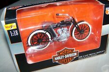Maisto die cast harley davidson motorcycle series 7 1909 Twin 5D V-T scale 1/18
