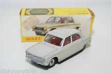 DINKY TOYS 510 PEUGEOT 204 SALOON CREAM VERY NEAR MINT BOXED RARE SELTEN