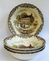 VTG Set of 4 Dessert Bowls Johnson Brothers Heritage Hall Pennsylvania House 6""