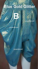 Men Women Wrap Short Pants Thai Lao Traditional Silk Synthetic Glitter Fabric
