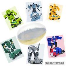 Transformers Jumbo Surprise Easter Basket Egg Robot Car Bumblebee Optimus PrIme