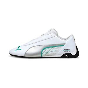 Puma Men's Mercedes-AMG Petronas R-Cat Motorsport Shoes White/Silver 306558-03 f